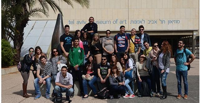 סיור לימודי במוזיאון תל אביב